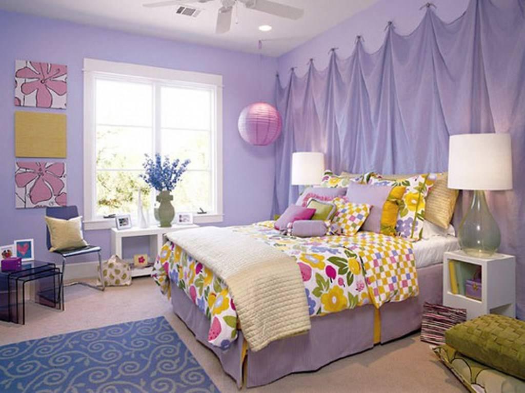Оформление стен в детской комнате: виды материалов, цвет, декор, фото в интерьере