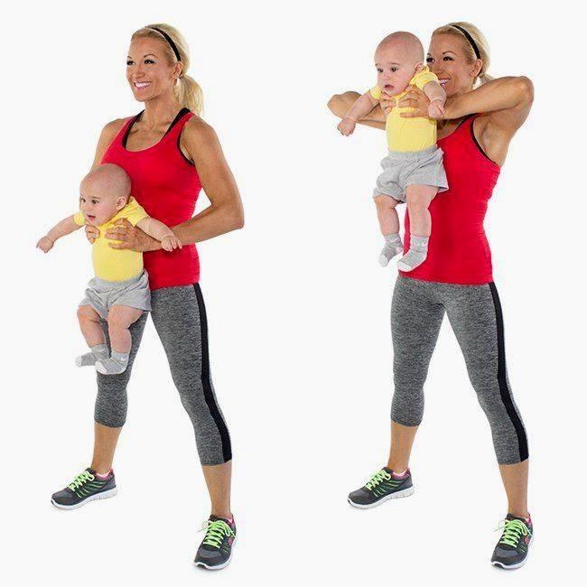 Спорт после родов: что выбрать кормящей маме
