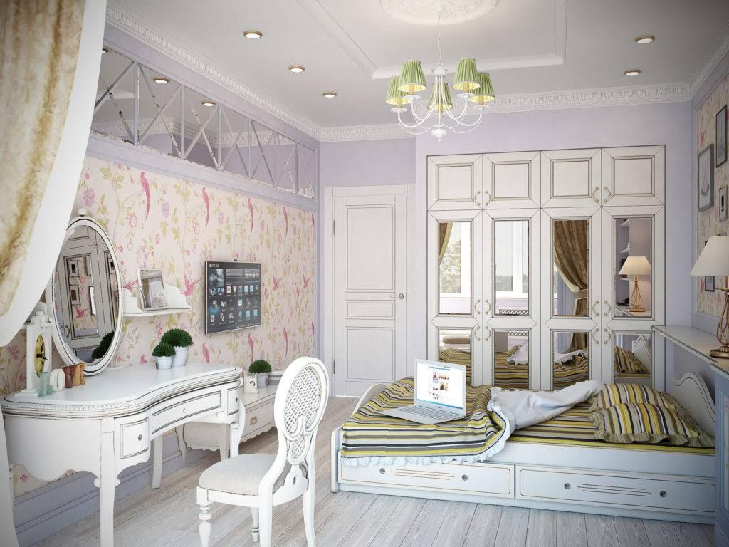 Детская в стиле прованс для девочки - мебель, шторы, обои в провинциальном стиле