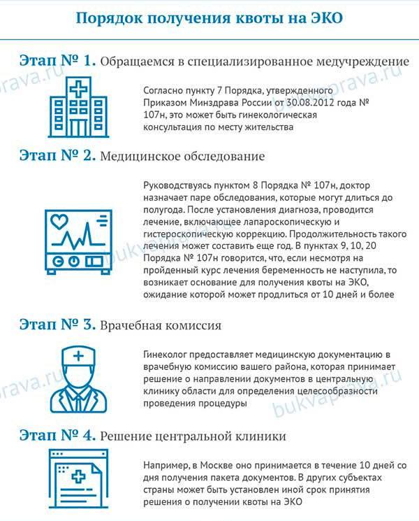 Как получить квоту на эко, как долго ждать и сколько раз можно делать процедуру? | konstruktor-diety.ru