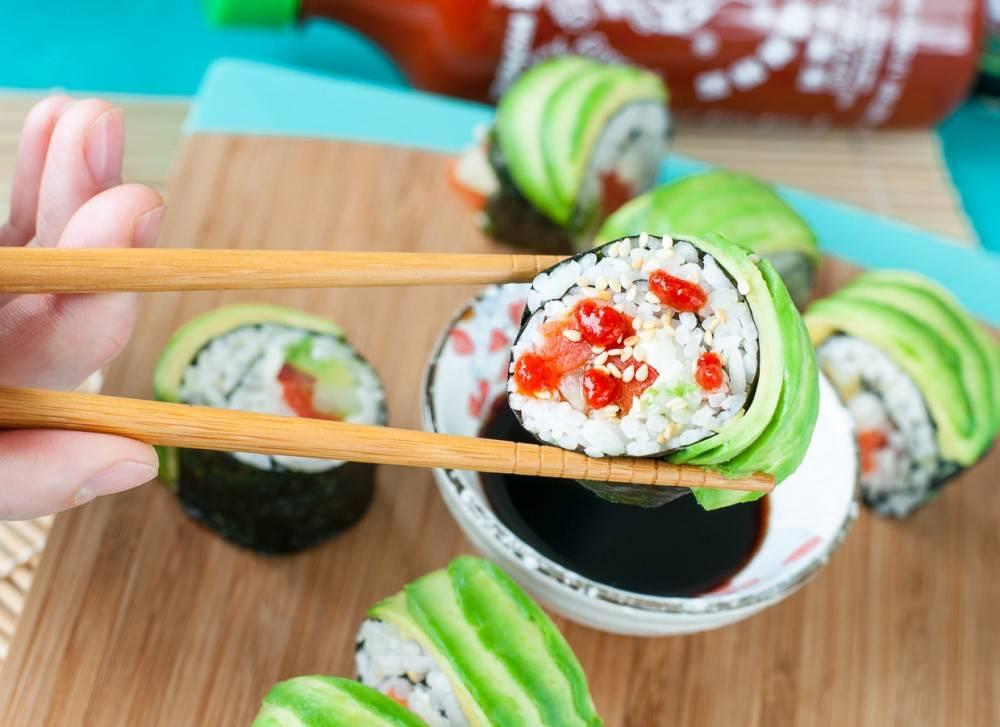 Можно ли есть суши при грудном вскармливании