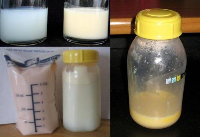 Какого цвета должно быть грудное молоко - советы