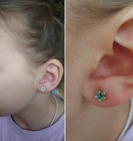 Что нужно знать перед тем как проколоть уши ребенку