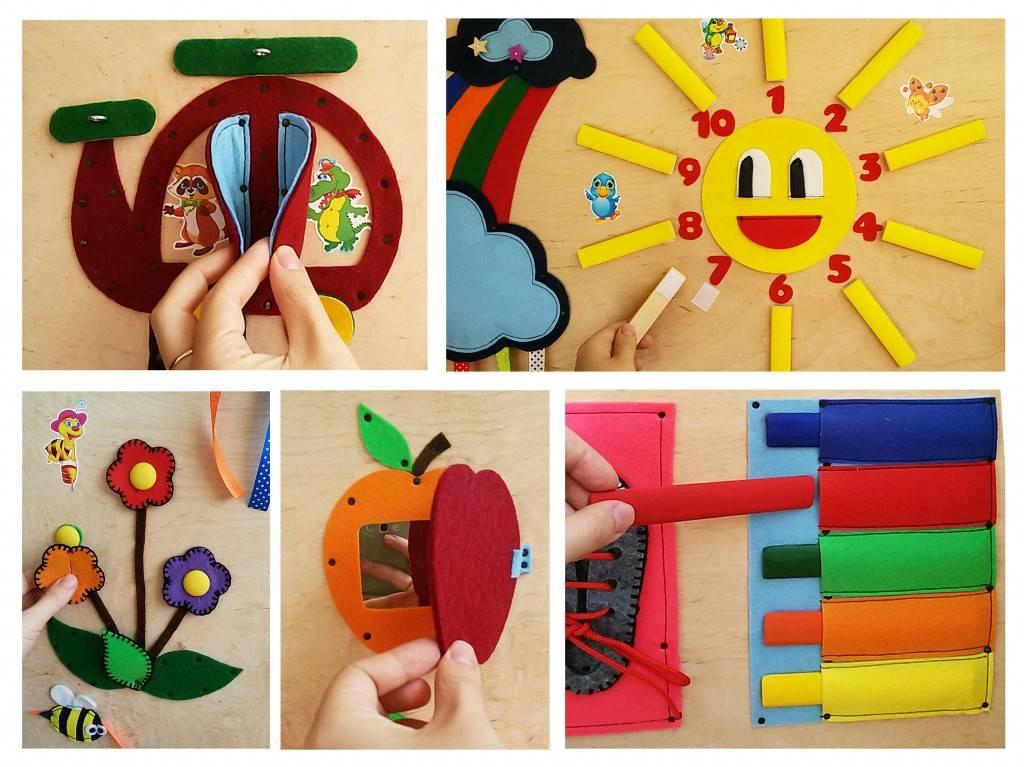 Примеры развивающих игр для детей 2–3 лет