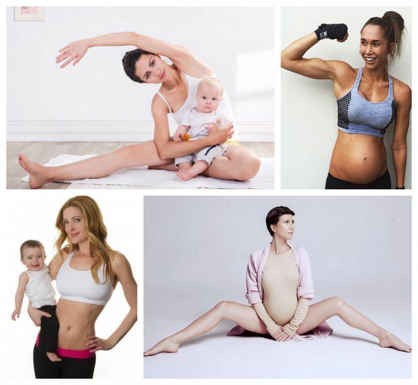 Похудение после родов при грудном вскармливании без вреда ребенку: диета и упражнения.