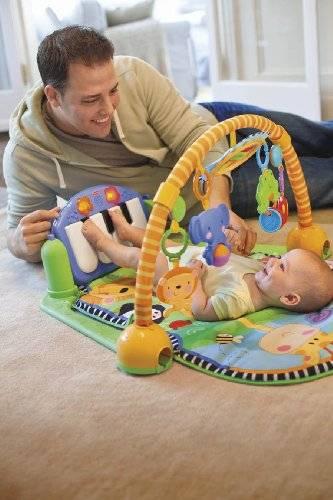 Развивающие коврики для детей от 0 до 1 года и старше:  в чём суть ковриков, виды детских ковриков, как подобрать правильный коврик   крестик