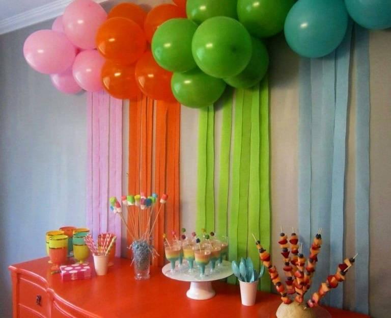 Основные правила оформления детского дня рождения