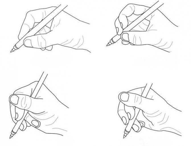 Учим ребёнка правильно держать карандаш и ручку