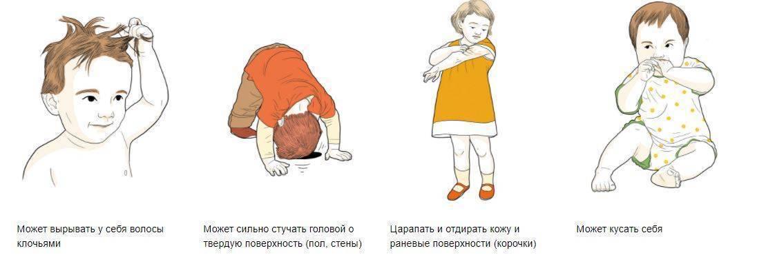 Симптомы аутизма у детей 3 лет