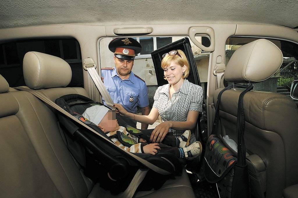 Пять правил перевозки детей в автомобиле