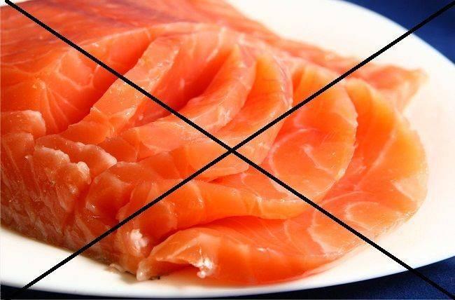 Какую рыбу можно при грудном вскармливании: селедка, копченая, соленая