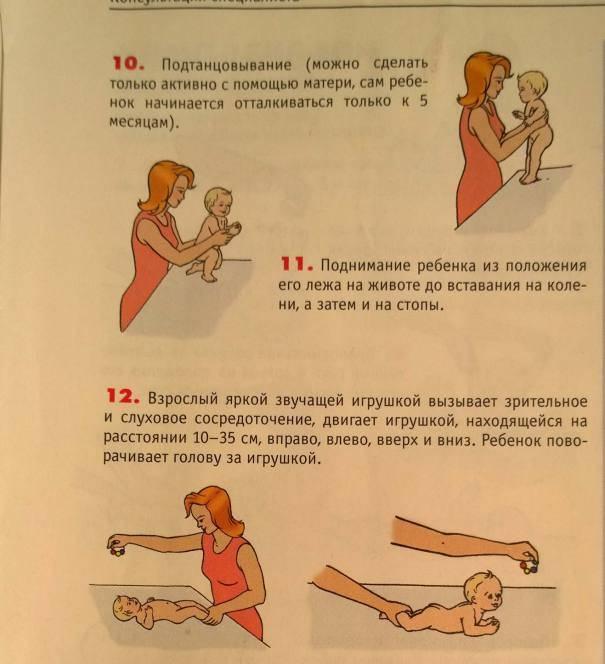 Динамическая гимнастика для грудничков: полезные упражнения