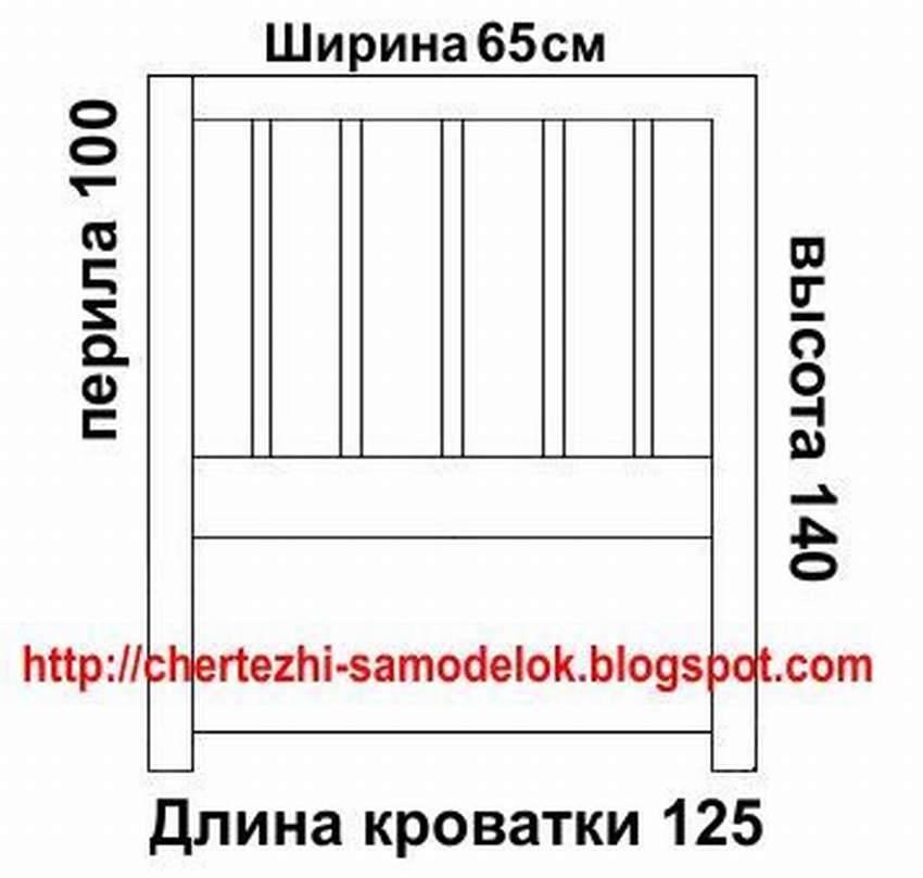 Стандартные размеры детской кроватки: до 3 лет, от 3 до 6, подростковые