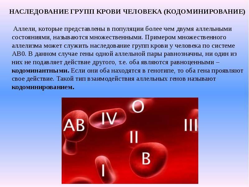 Чью кровь наследует ребенок при рождении