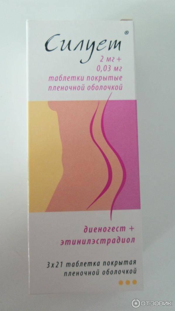 Силуэт таблетки: инструкция по применению гормонального противозачаточного препарата, противопоказания | baikalstom.ru