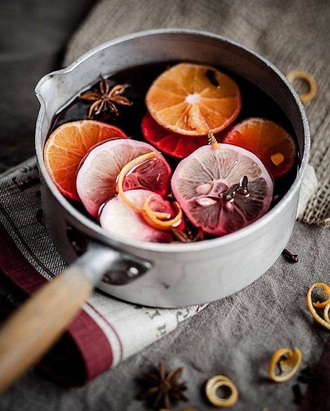 Рецепт безалкогольного глинтвейна для кормящих