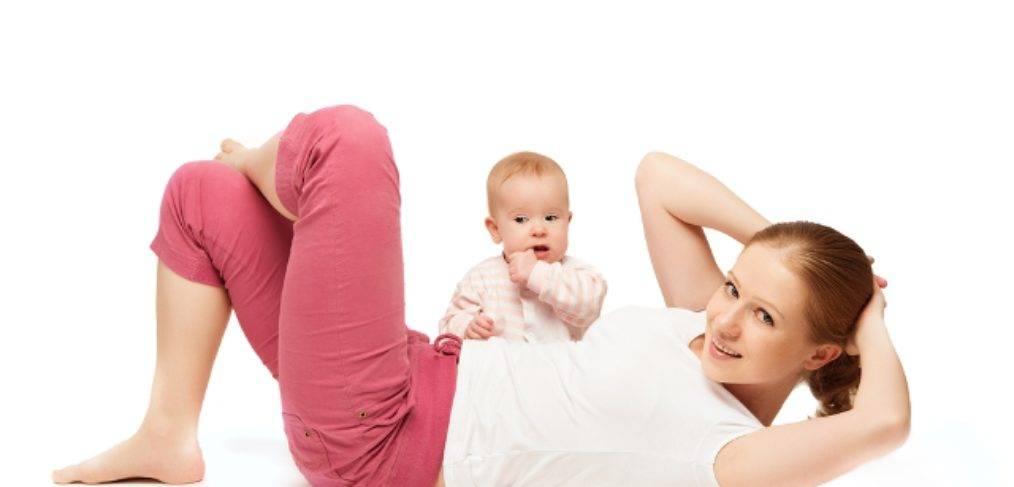 Когда можно качать пресс после родов при грудном вскармливании или если есть швы?