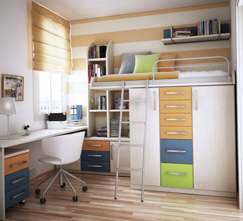 Детская комната 10 кв. м. [топ 50 фото], идеи дизайна