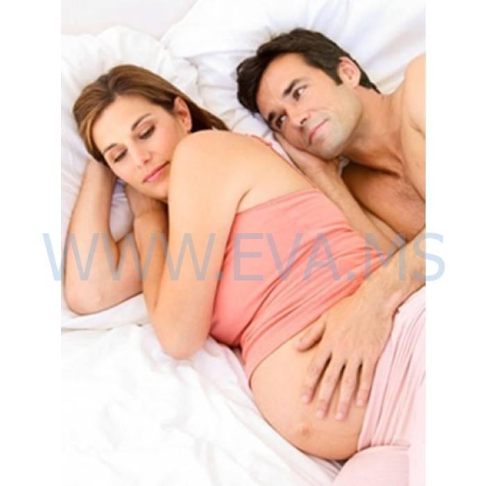 Можно ли при беременности спать с мужем?   новая аптека