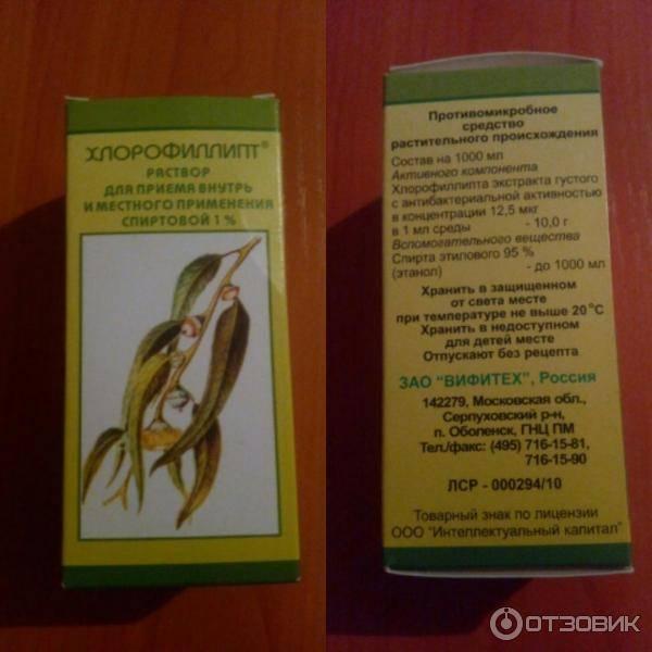 Хлорофиллипт. инструкция по применению. справочник лекарств, медикаментов, бад