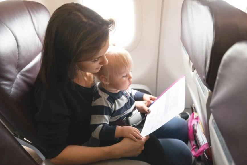 Путешествие на самолете с ребенком: правила перевозки детей на самолете