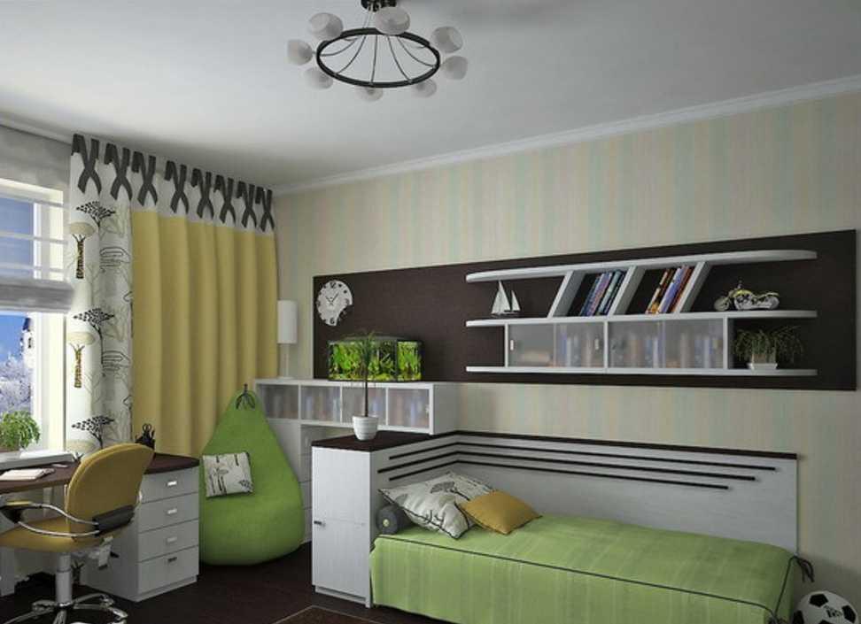 Детская 16 кв. м.: различные проекты, варианты интерьера и лучшие идеи для ремонта (110 фото)