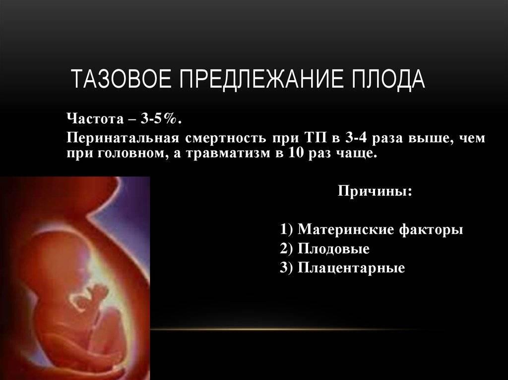 Что такое предлежание плода: виды, положение ребенка в матке по неделям беременности, перед родами