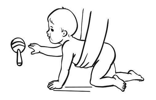 Как помочь ребенку научиться ползать | упражнения, чтобы поползти