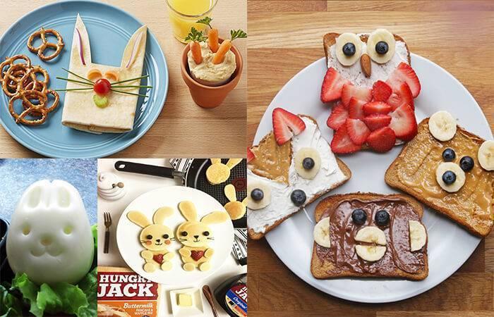 Завтрак для деток 1-1.5 года