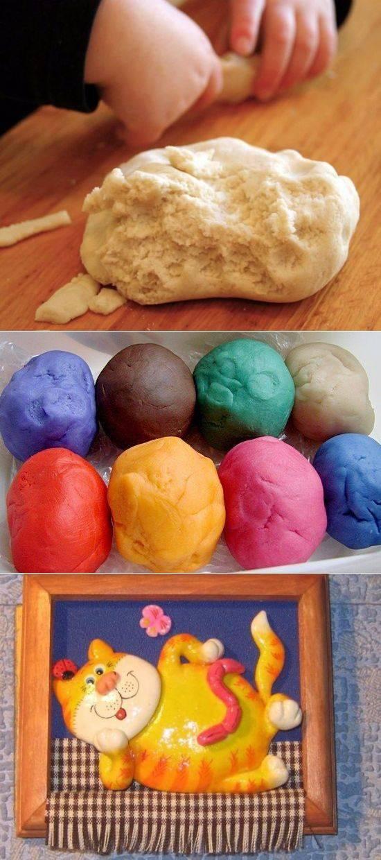 Соленое тесто - рецепт изготовления материала для лепки поделок. как сделать соленое тесто - фото, видео