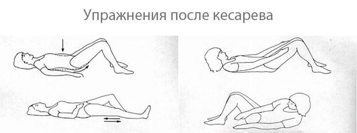 Можно ли лежать на животе после кесарева: в каких позах можно спать