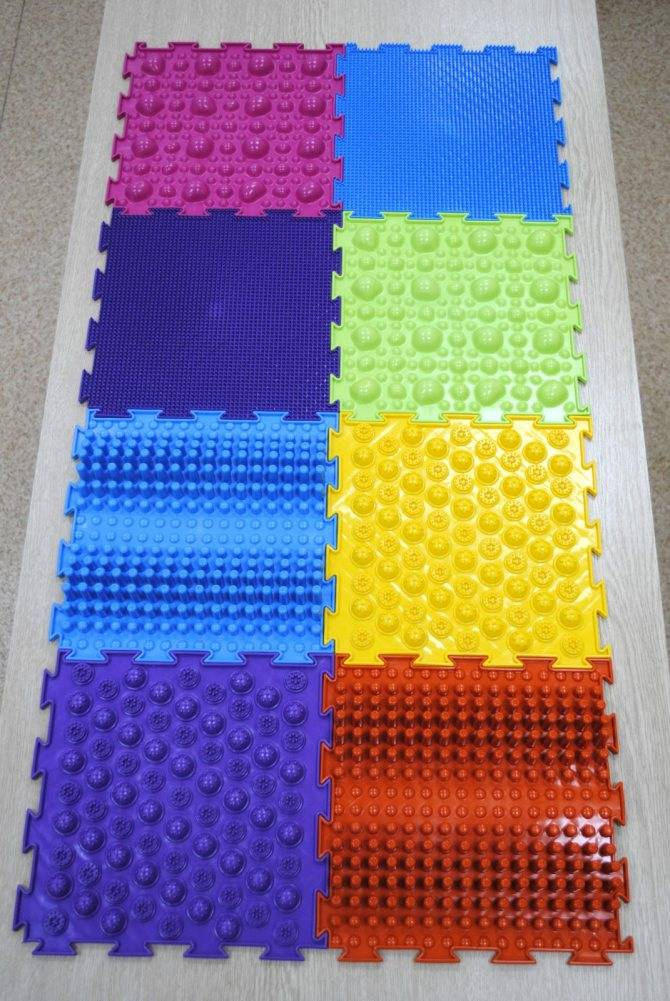 Массажный коврик для детей своими руками: мастер-класс по созданию полезной поделки