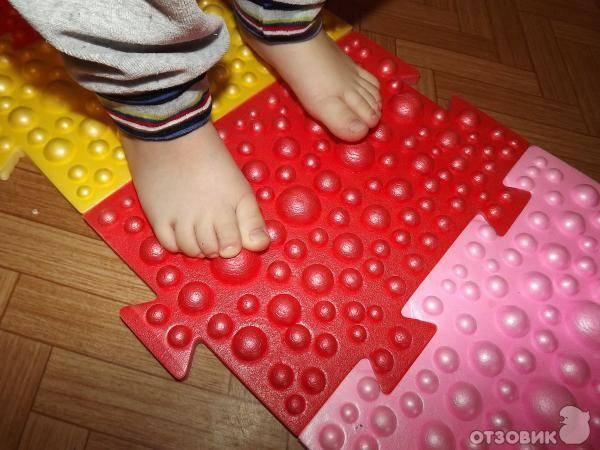 Массажный коврик для ребенка своими руками   | материнство - беременность, роды, питание, воспитание