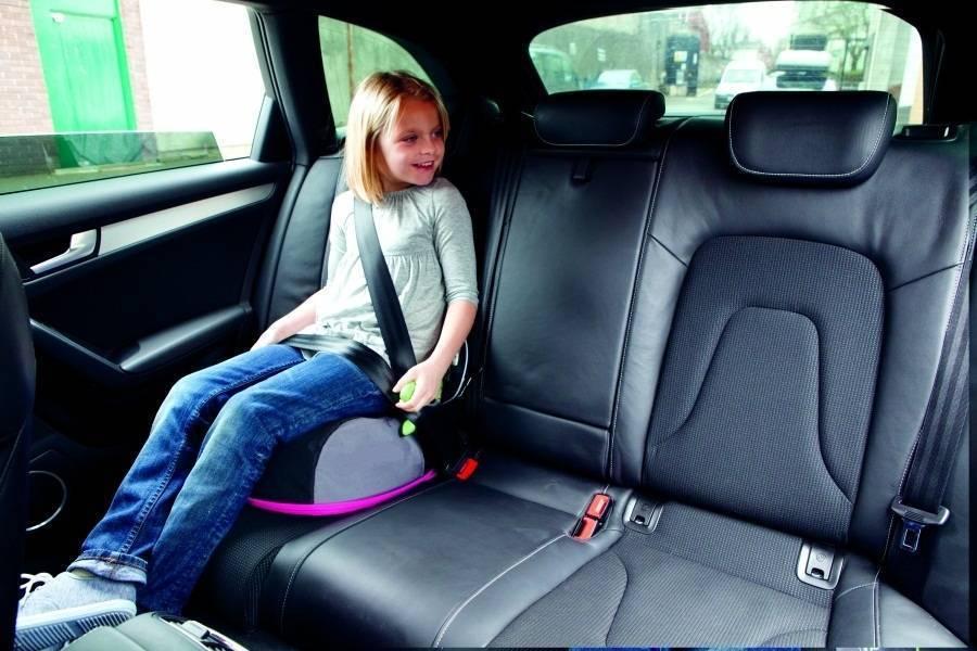 Когда используется бустер для перевозки детей в автомобиле