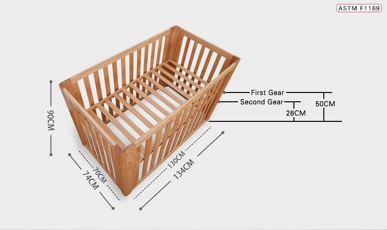 Стандартные размеры подростковой кровати — 180х80, 200х90 см
