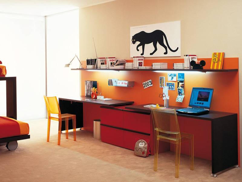 Школьный письменный стол для первоклассника (фото)