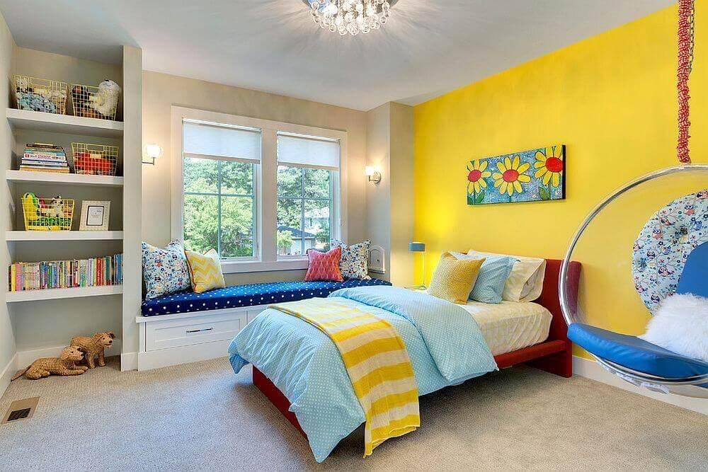 Детская в светлых тонах - дизайн детской комнаты
