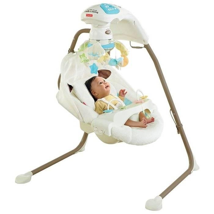 Электронные качели для новорожденных (95 фото): детские электрические качели и отзывы