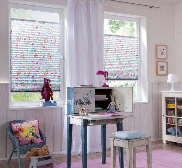 Шторы для девочки детскую комнату (29 фото) — живые примеры дизайна