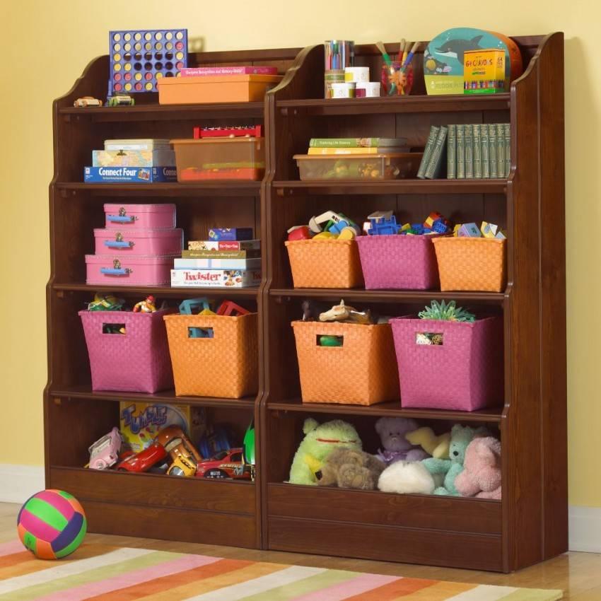 Хранение игрушек в детской комнате - идеи и советы