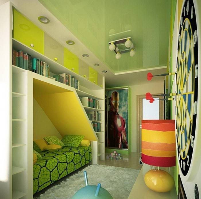 Детская комната для двоих детей: примеры ремонта, зонирование, фото в интерьере