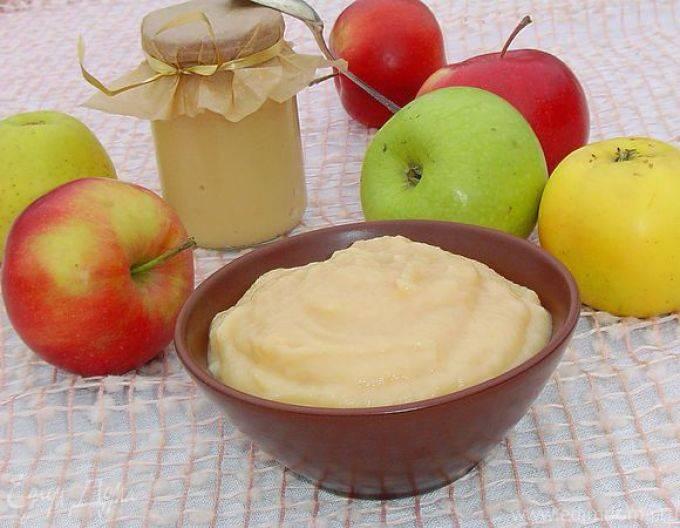 Яблочное пюре для прикорма ребенка: как приготовить, рецепты