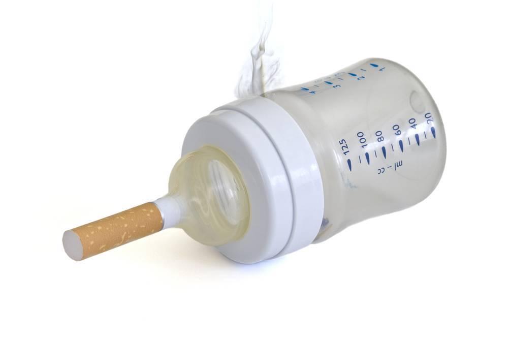 Вред курения при грудном вскармливании — комаровский о пагубной привычке кормящей матери