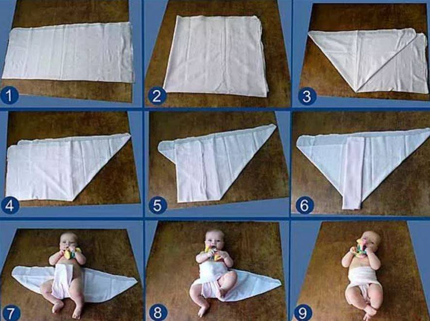 Подгузники для новорожденных из ткани своими руками: их преимущества и недостатки, определение размера и изготовление выкройки, а также как их сшить самостоятельно