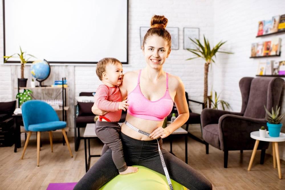 История эффективного похудения после родов: комплексный подход + позитивный настрой