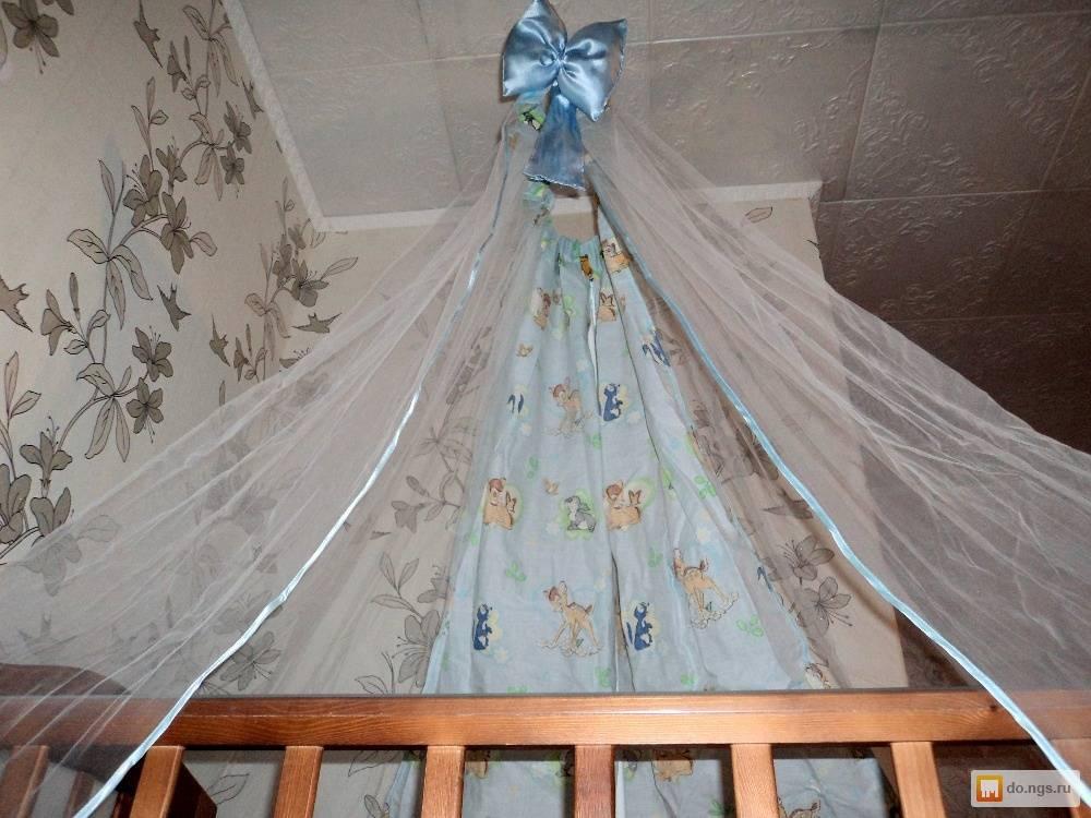 Балдахин на детскую кроватку своими руками: интересные идеи выполнения
