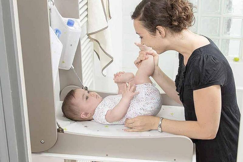 Как проводить туалет ребенку новорожденному