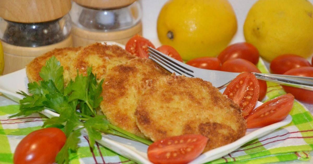 Рыбные котлеты для ребенка от 1 года: пошаговый рецепт