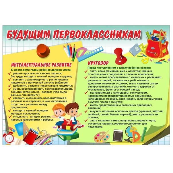 Документы для поступления в 1 класс: что нужно первоклашке для оформления в школу