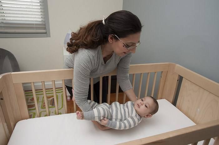 Как перестать качать ребенка перед сном
